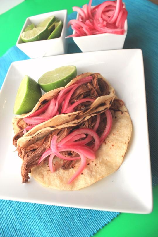 Southwestern Pulled Brisket Tacos