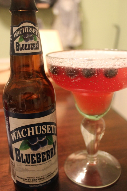 Blueberry Beergaritas