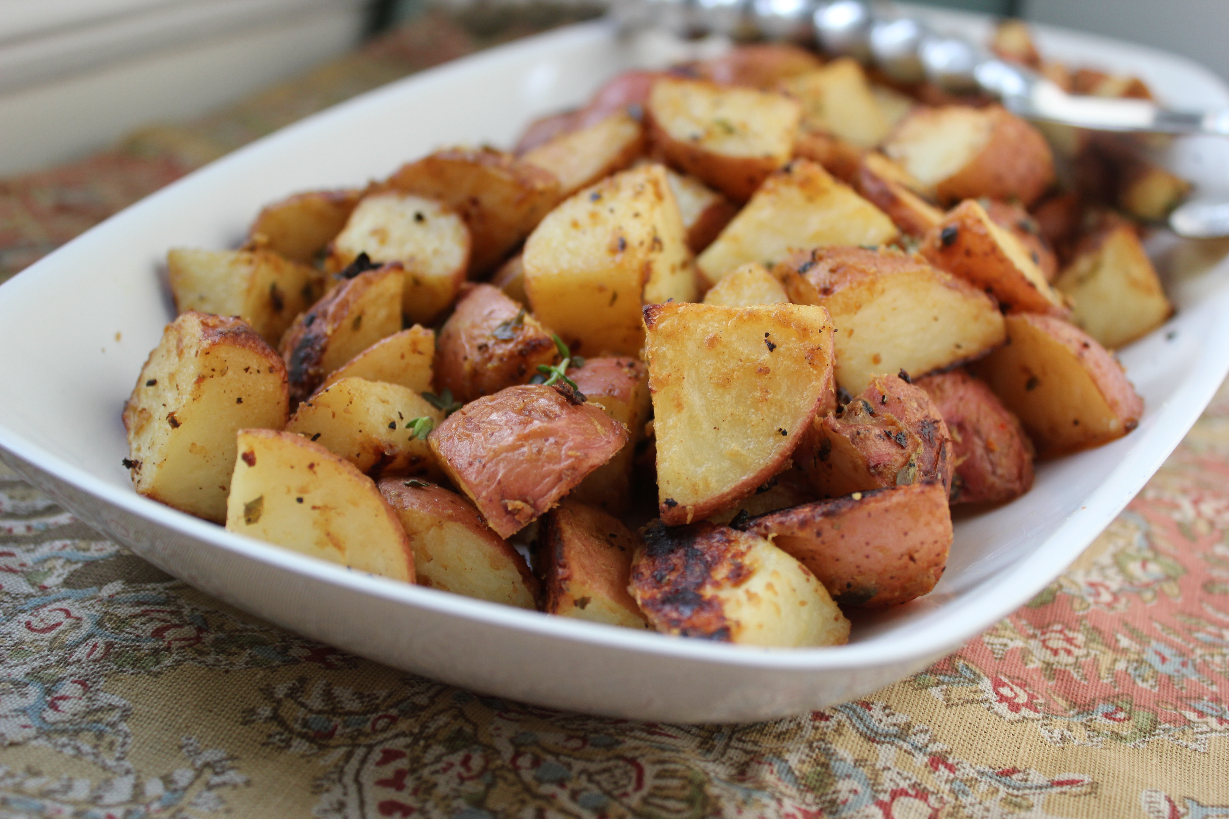 Dijon Roasted Potatoes