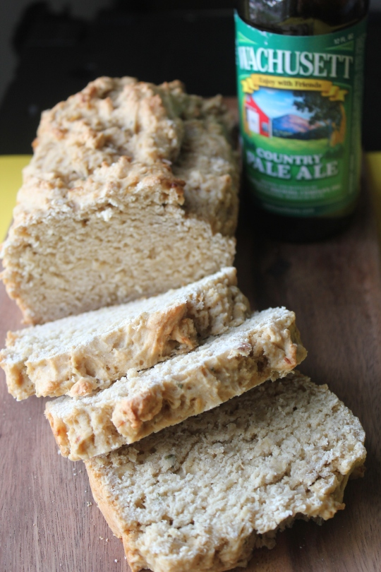 Roasted Garlic Beer Bread