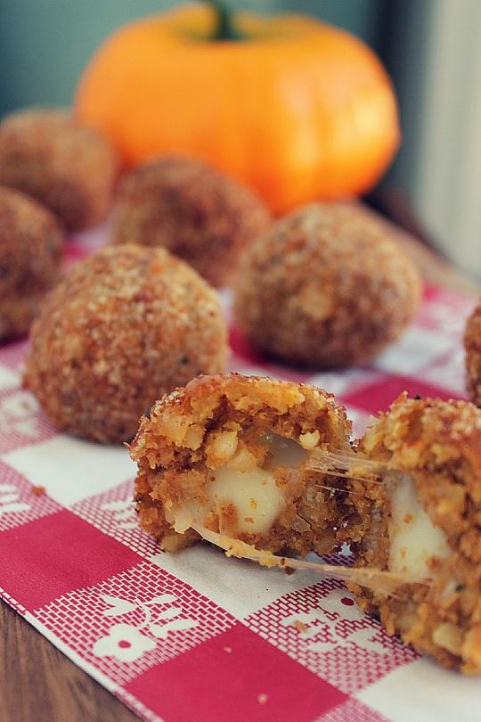 Pumpkin Arancini Balls