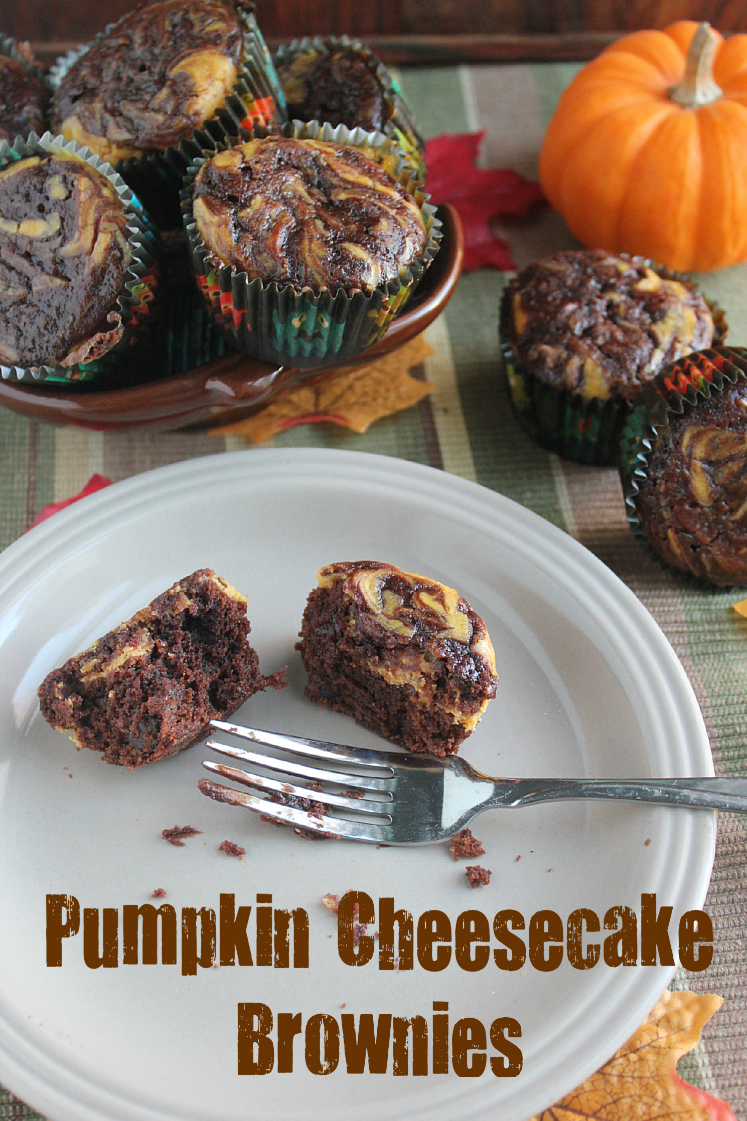 Pumpkin Cheesecake Brownies | And They Cooked Happily Ever After
