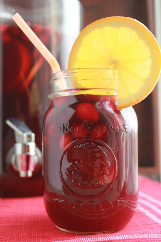 Cherry Pomegranate Sangria
