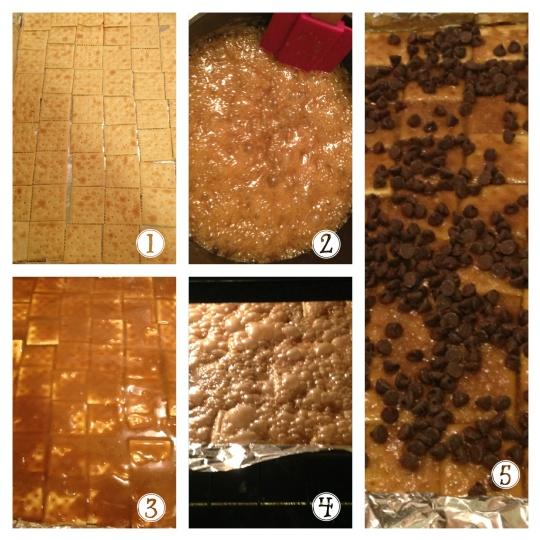 Saltine Toffee Brittle