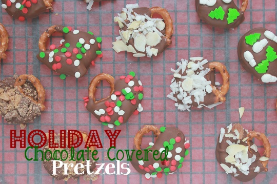 y Chocolate Covered Pretzels