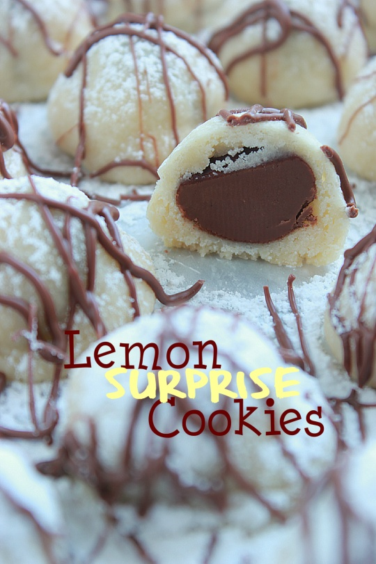 Lemon Surprise Cookies